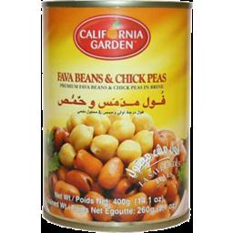 Photo of California G. Fava Beans & Chickpeas 450g
