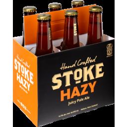 Photo of Stoke Beer Hazy Pale Ale 6 Pack X 330ml