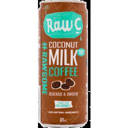 Photo of Raw C Coconut Milk Coffee Can 325ml