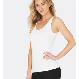 Photo of BOODY BAMBOO Womens Tank Top White S