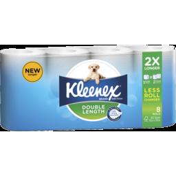 Photo of Kleenex Double Length Toilet Tissue - 8 Pack