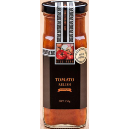 Photo of Hill Farm Relish Tomato Gluten Free 250gm