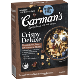 Photo of Carman's Muesli Fruit Deluxe 400g