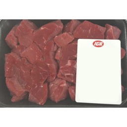 Photo of Diced Beef (trayed)
