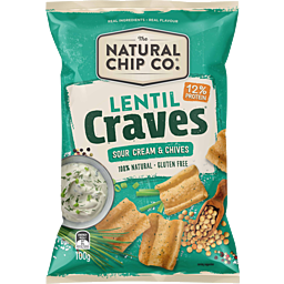 Photo of Natural Cracker Co. Lentil Sour Cream & Chives