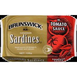 Photo of Brunswick Sardines In Tomato Sauce 106g