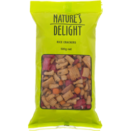 Photo of Nature's Delight Rice Cracker Mix 500gm
