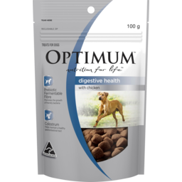 Photo of Optimum Nutrition For Life Digestive Health With Chicken Dog Treat 100g