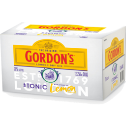 Photo of Gordon's Gin & Tonic 7% 12pack cans