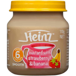 Photo of Heinz Custard With Strawberry & Banana 110g