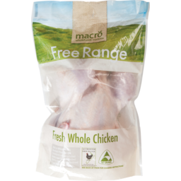 Photo of Macro Chicken Whole Free Range