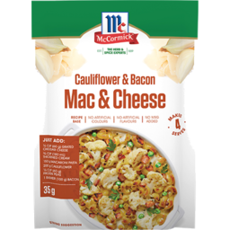 Photo of Mccormick Mac & Cheese Califlower & Bacon 1pk