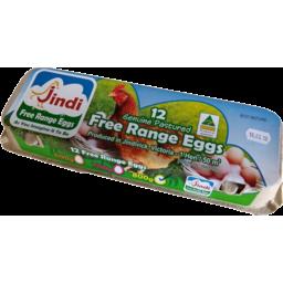 Photo of Jindi Pasture Fed Free Range Eggs 700g