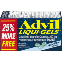 Photo of Advil Liquid Gels
