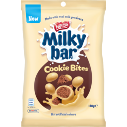 Photo of Nestle Milkybar Chocolate Cookie Bites 140g