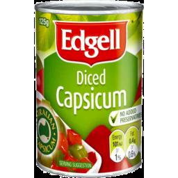 Photo of Edgell Diced Capsicum 125g