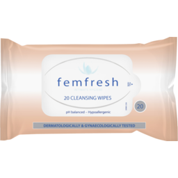Photo of Femfresh Feminine Wipes Flushable 20s