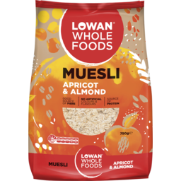 Photo of Lowan Apricot & Almond Muesli 750g