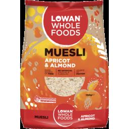 Photo of Lowan Natural Muesli Apricot & Almond 750g