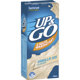 Photo of Sanitarium Up&Go Liquid Breakfast Vanilla Ice 350ml