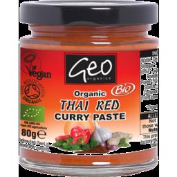 Photo of Geo Organics Curry Paste - Thai Red