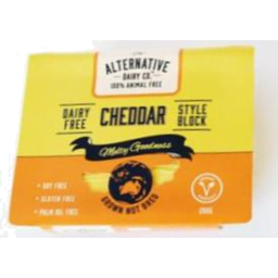 Photo of Alternative Dairy Co. Vegan Cheese Cheddar 200g
