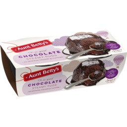 Photo of Aunt Bettys Aunt Betty's Steamy Puds Chocolate 2x95g 2x95g