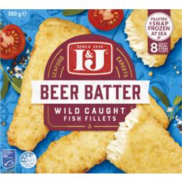 Photo of I&J Fish Beer Batter 8 Pack 550g