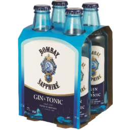Photo of Bombay Sapphire G&T 4 Pack