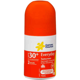 Photo of Cancer Council Everyday Sunscreen Spf 30+ 75ml Roll On