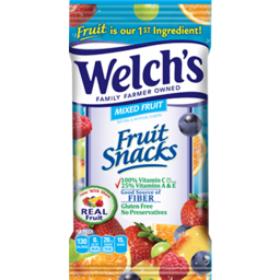 Photo of Welch Mixed Fruit Snack Single