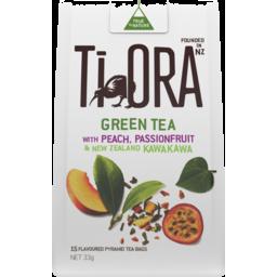 Photo of Ti Ora Green Tea Peach/Passion 33gm