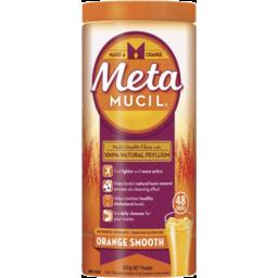 Photo of Metamucil Daily Fibre Supplement Orange Smooth 48 Doses