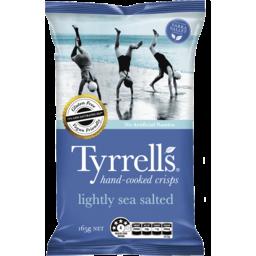 Photo of Tyrrells Lightly Sea Salted Crisps 165g