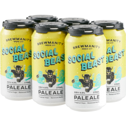 Photo of The Social Beast Pale Ale Can