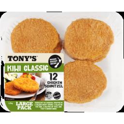Photo of Tonys Schnitzel Chicken 12 Pack