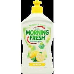 Photo of Morning Fresh Dishwashing Liquid Lemon 400 Ml