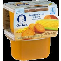 Photo of Gerber Sweet Potatoes & Corn 2nd Foods