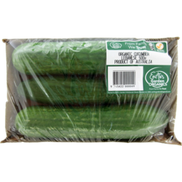 Photo of Earths Garden Organics Lebanese Cucumber 500g