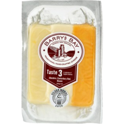 Photo of Barrys Bay Cheese Taste 3 English 200g