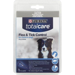 Photo of Total Care Flea/Tick Control Medium Dog 1pk