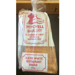 Photo of MITCHELL BREAD WHITE 700GM : Tues, Wed, Thurs & Sat Only
