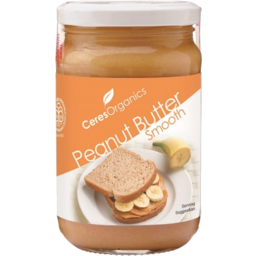 Photo of Ceres Organics Peanut Butter Smooth (300g)