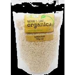 Photo of Nature's Lane Organic Quinoa Puffs 100g