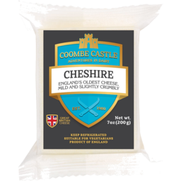 Photo of Coombe Castle Cheshire Cheese 200g