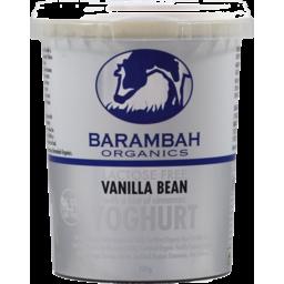 Photo of Barambah Organics Vanilla Bean Yoghurt 500g