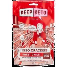 Photo of Keep Keto Crackers Sweet Chilli 75g