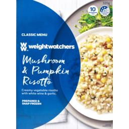 Photo of Weightwatchers Frozen Meals Mushroom & Pumpkin Risotto 320g 320g