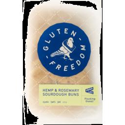 Photo of Venerdi Freedom Buns Gluten Hemp & Rosemary Sourdough 265g