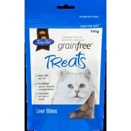 Photo of Fussy Cat Grain Free Treats Liver Bites 100g
